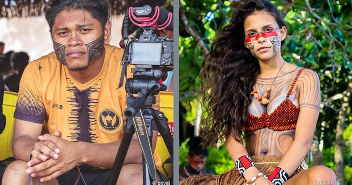 Arco, flecha e celular: Os jovens indígenas nas redes