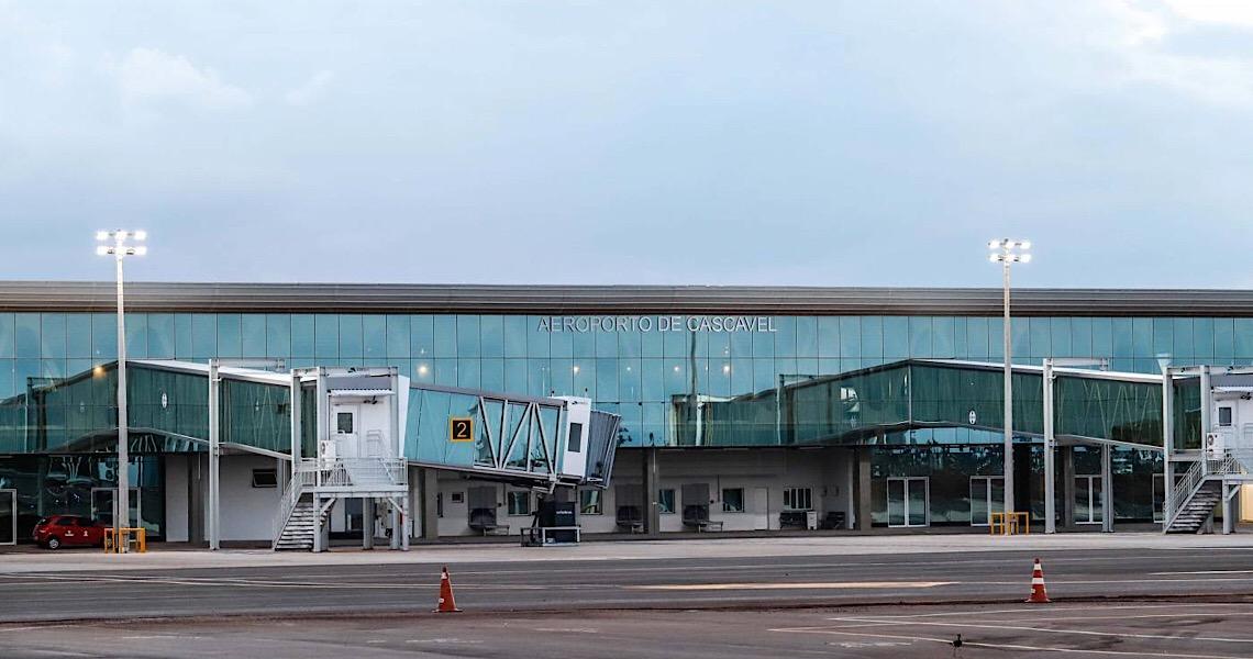 Aeroporto novinho de Cascavel (PR) será concedido à iniciativa privada