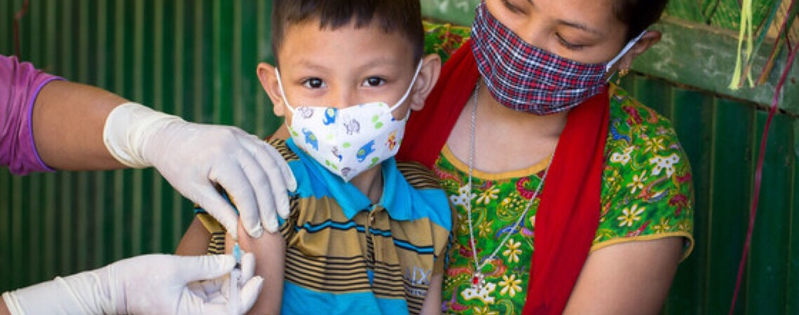 ONU quer chegar a 50 milhões de crianças sem vacinas após pandemia