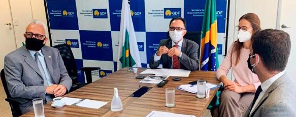 Governo da capital do Brasil apresenta oportunidades para Portugal