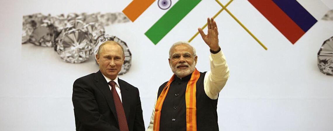 Putin anuncia fornecimento de assistência humanitária à Índia em meio à crise da Covid-19