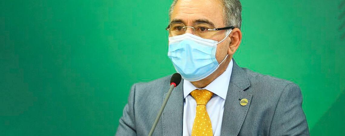 Queiroga apela para que países liberem vacinas ao Brasil