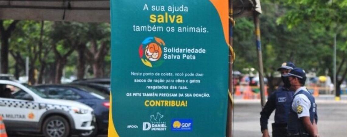 Animais também precisam de solidariedade