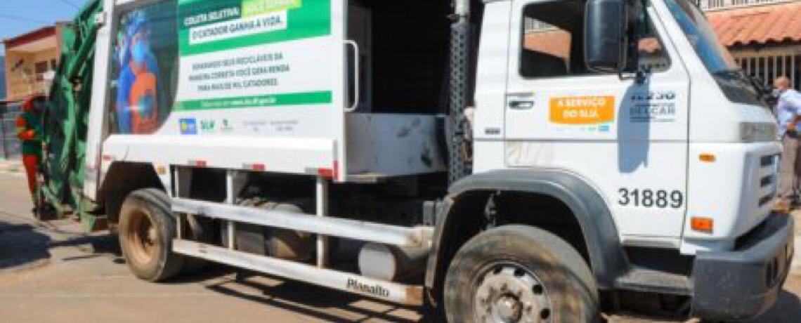 Novos horários na coleta de lixo em nove regiões do DF