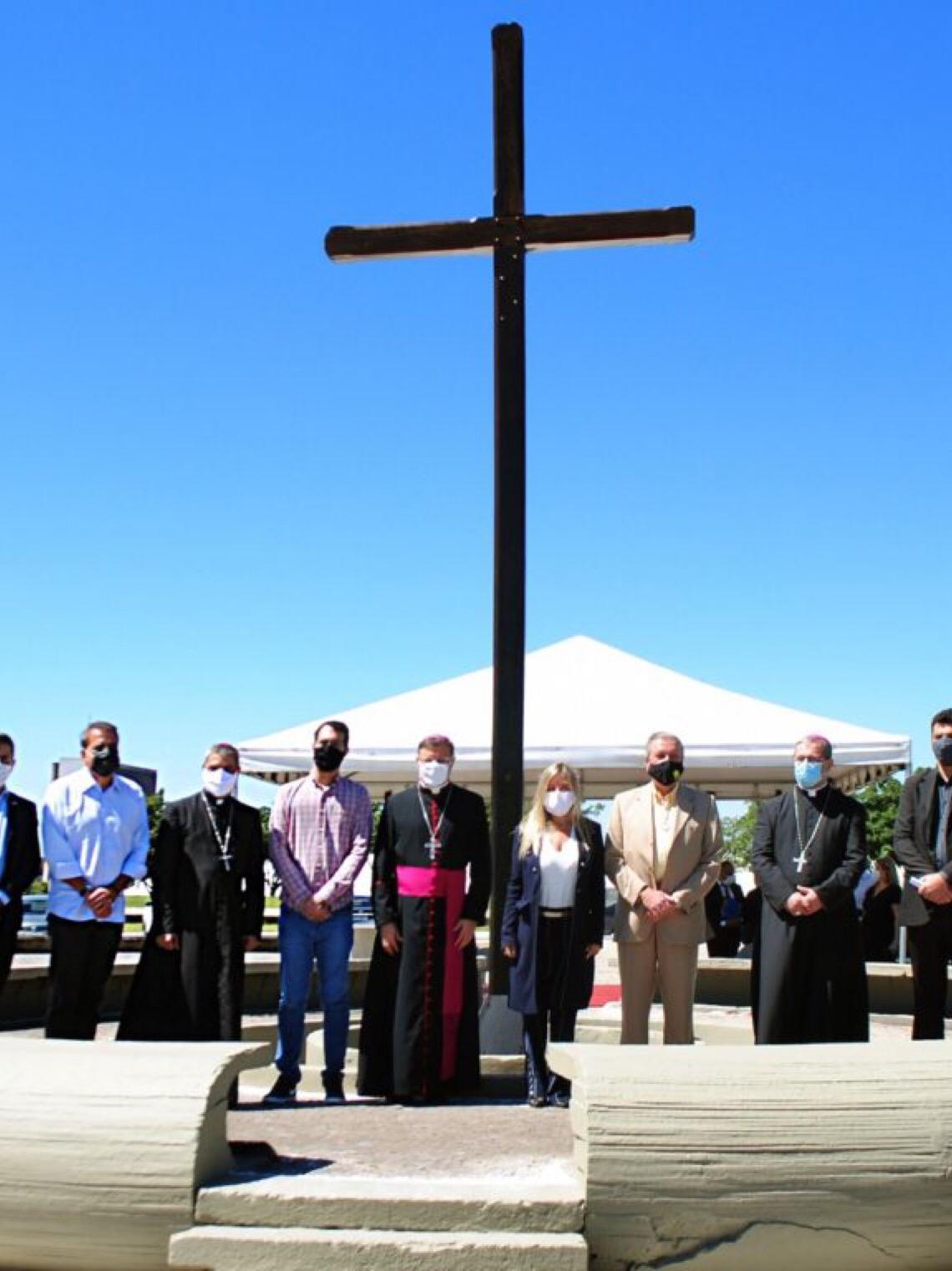 Aniversário da 1ª missa é celebrado na Catedral e na Praça do Cruzeiro
