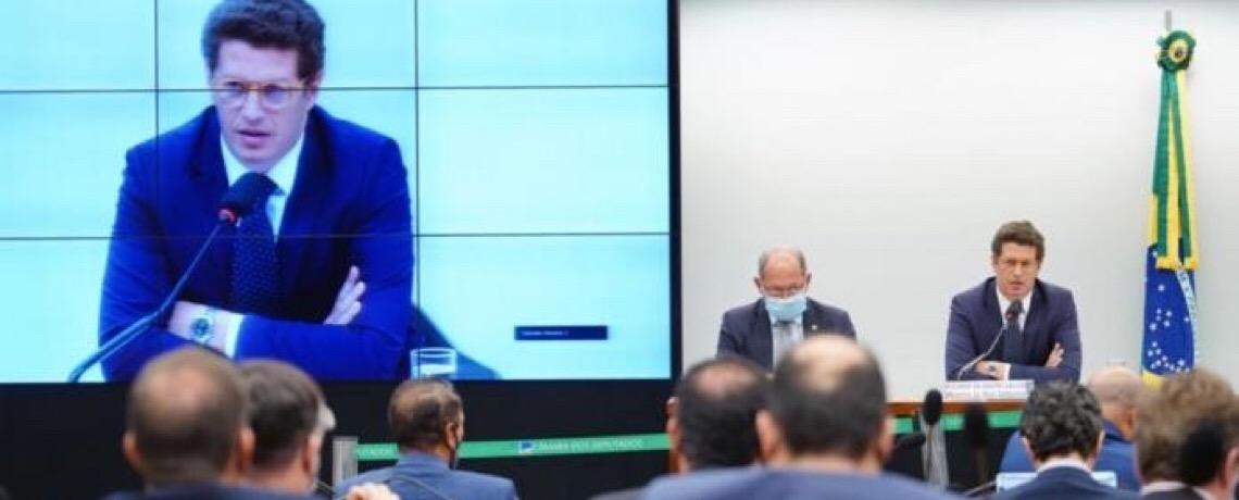 """Deputados batem boca com ministro Salles: """"Deixa de ser moleque!"""" e outras coisa mais…"""