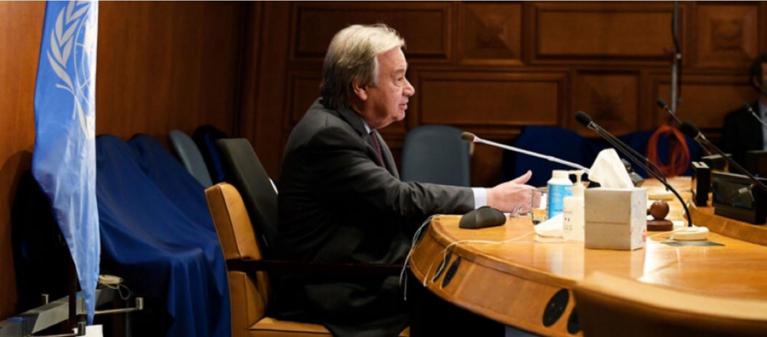 "Guterres alerta para mundo ""à beira do abismo"" e pede compromissos até dezembro"