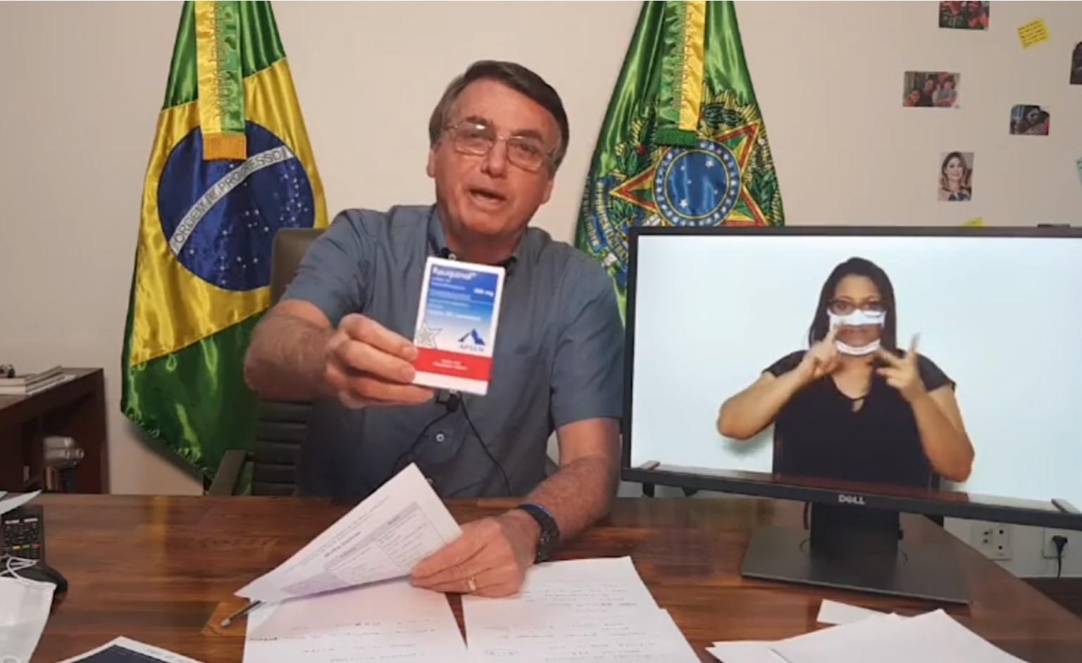 Bolsonaro complica Queiroga ao anunciar vídeo com ministros defendendo a cloroquina