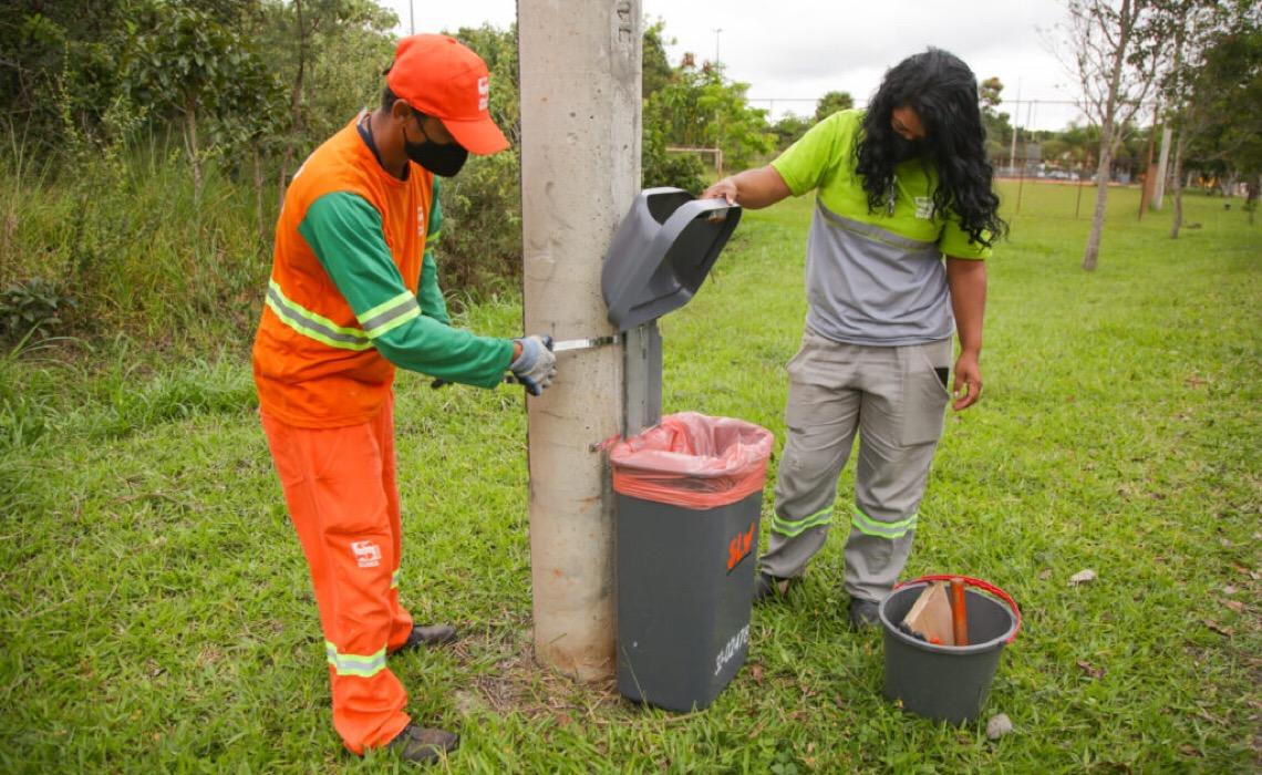 Aplicativo dá acesso a informações sobre coleta de resíduos no DF