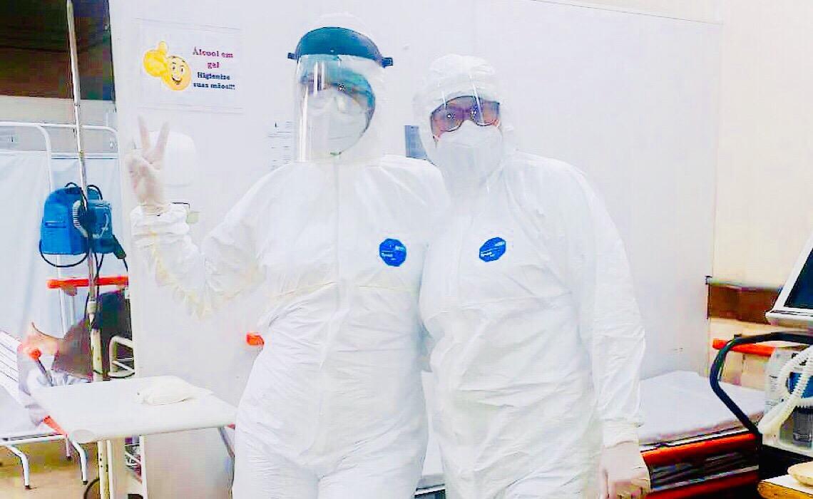 Rotina de profissionais da saúde que são mães no combate à pandemia