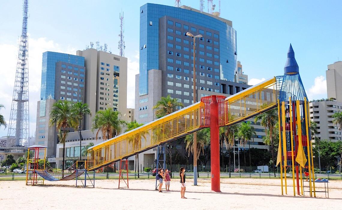 O Parque da Cidade de 40 anos atrás, em um rico acervo