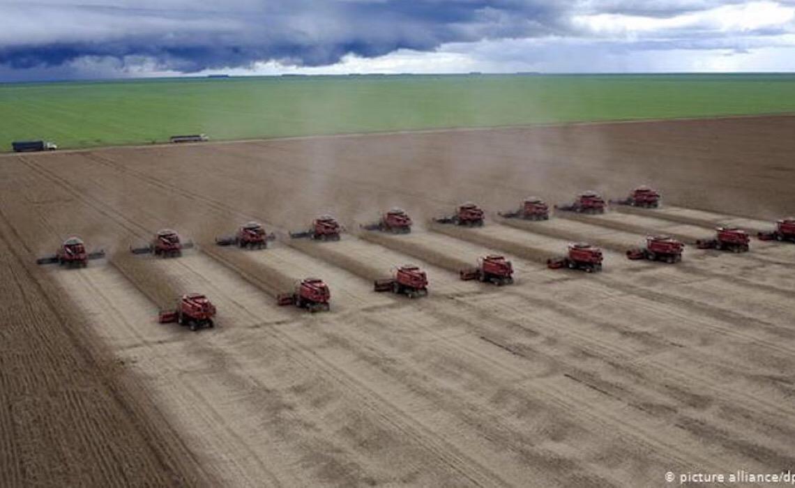O agronegócio brasileiro está pondo sua posição em jogo