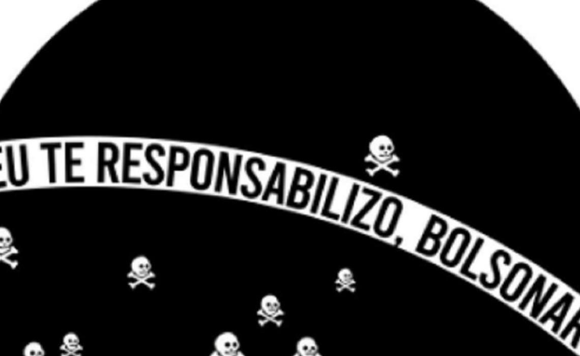 Internautas lançam campanha para responsabilizar Bolsonaro pelas mortes da Covid-19