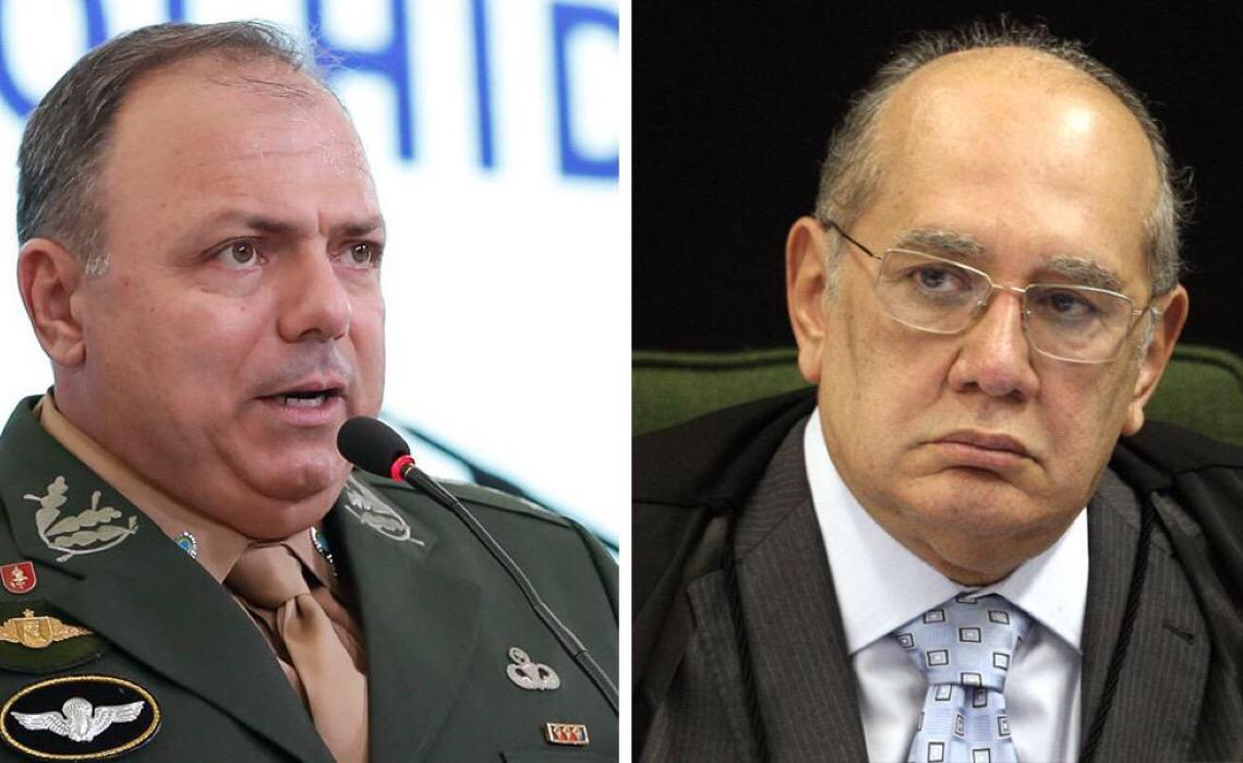 Gilmar Mendes diz que gestão da saúde foi péssima para o Brasil e para a imagem dos militares