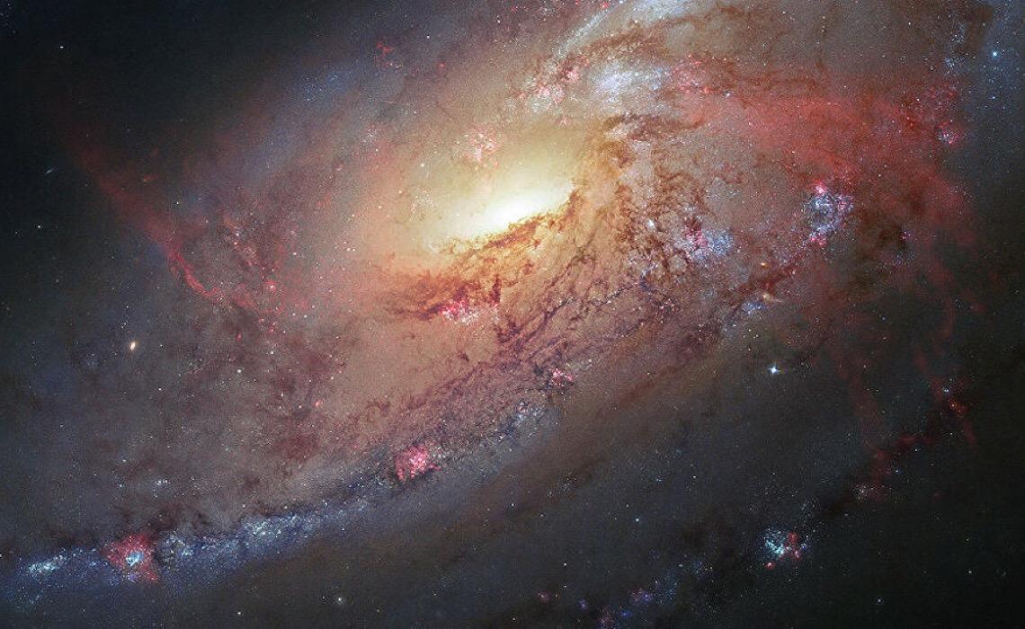 Descoberta mais antiga galáxia espiral já observada que se formou pouco depois do Big Bang
