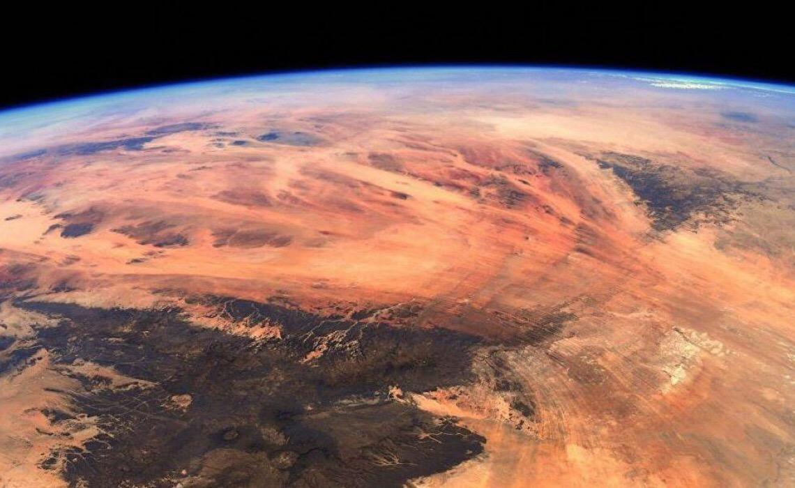 Fotos revelam 'estranho mundo' semelhante a Marte na África Ocidental