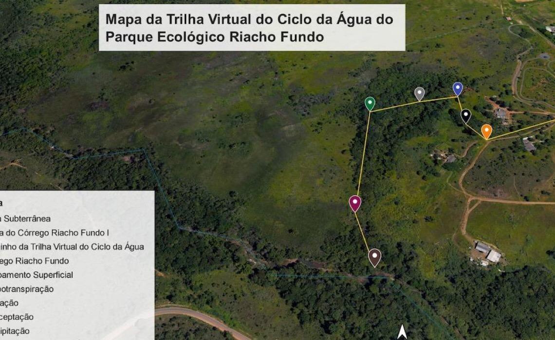 Brasília Ambiental abraça ideia de professor sobre o ciclo da água