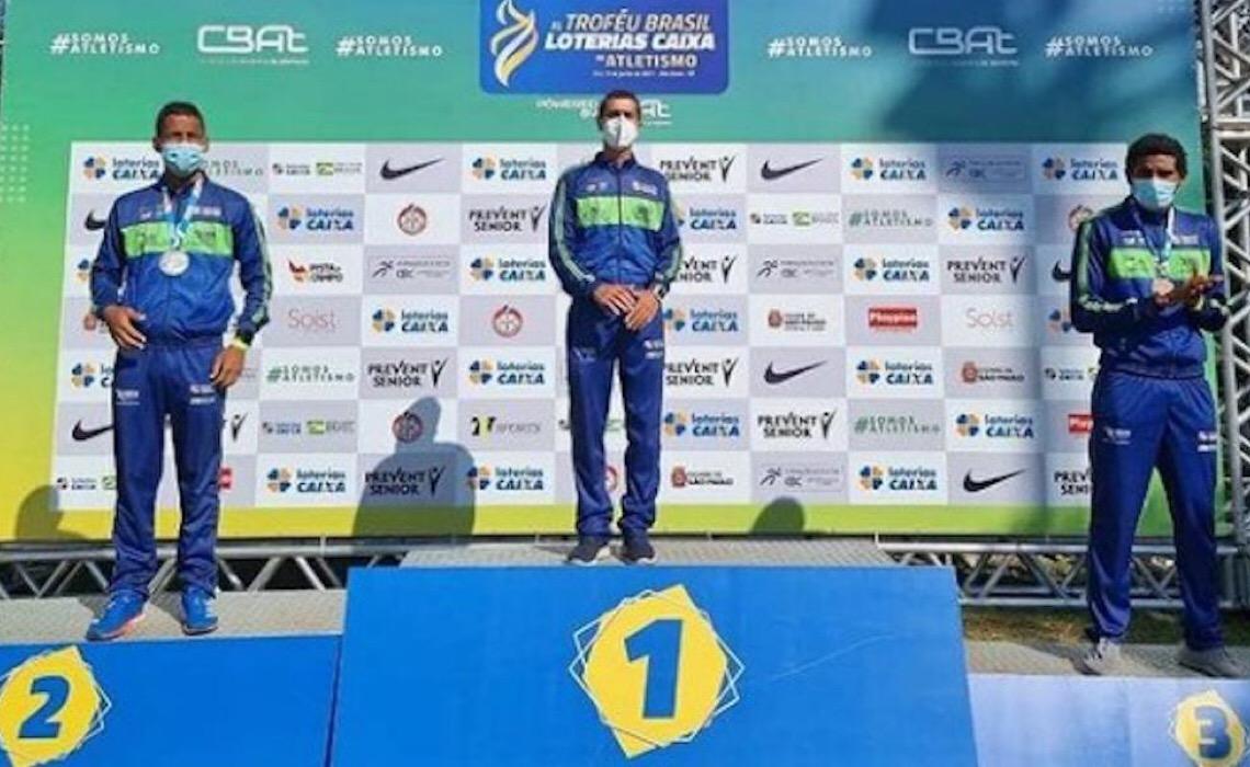 DF conquista oito medalhas no Troféu Brasil de Atletismo