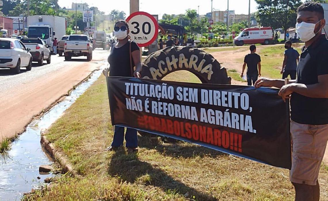 MST rebate Jair Bolsonaro sobre entrega de títulos de terra no Pará
