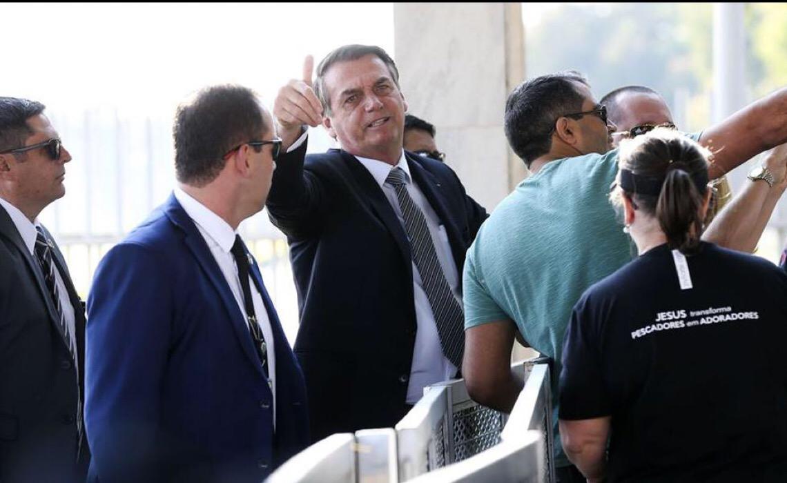 ABI reage às agressões de Bolsonaro contra repórter: