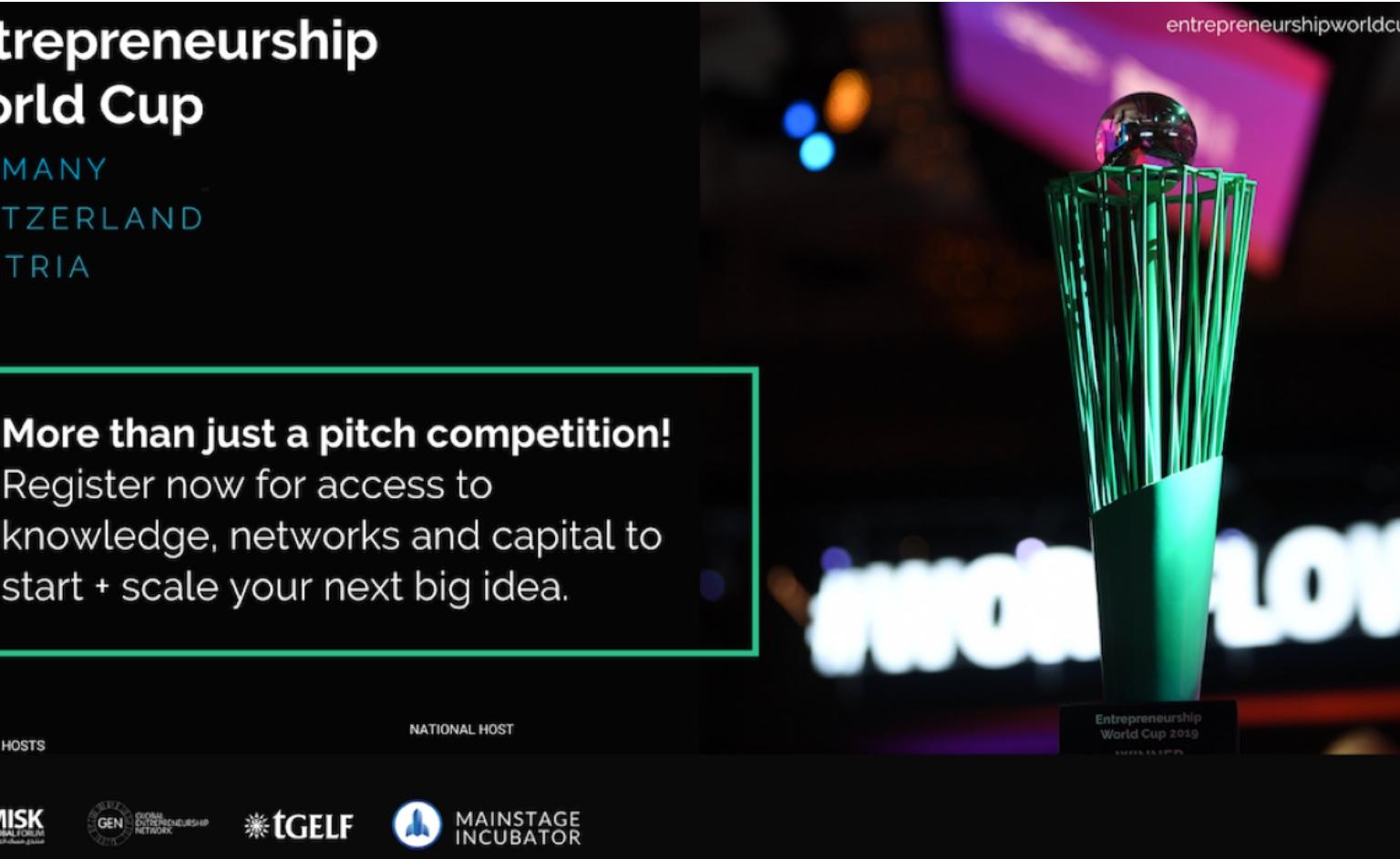 Inscrições abertas para Entrepreneurship World Cup