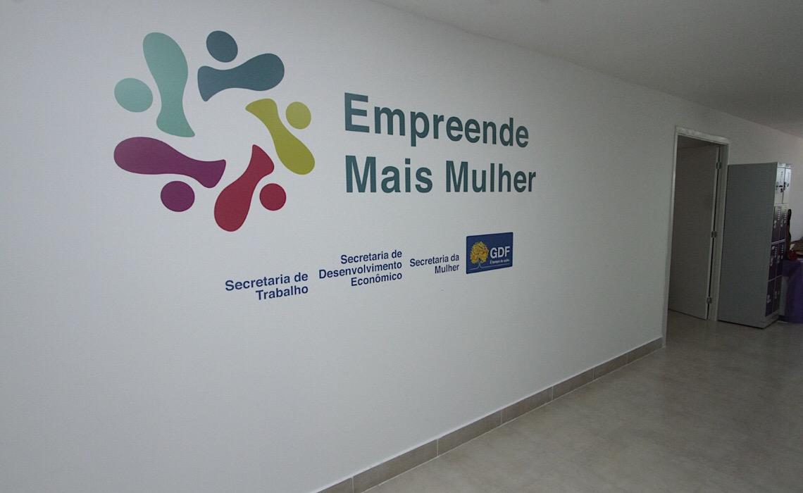 Casa da Mulher Brasileira de Ceilândia investe na capacitação às vítimas de violência