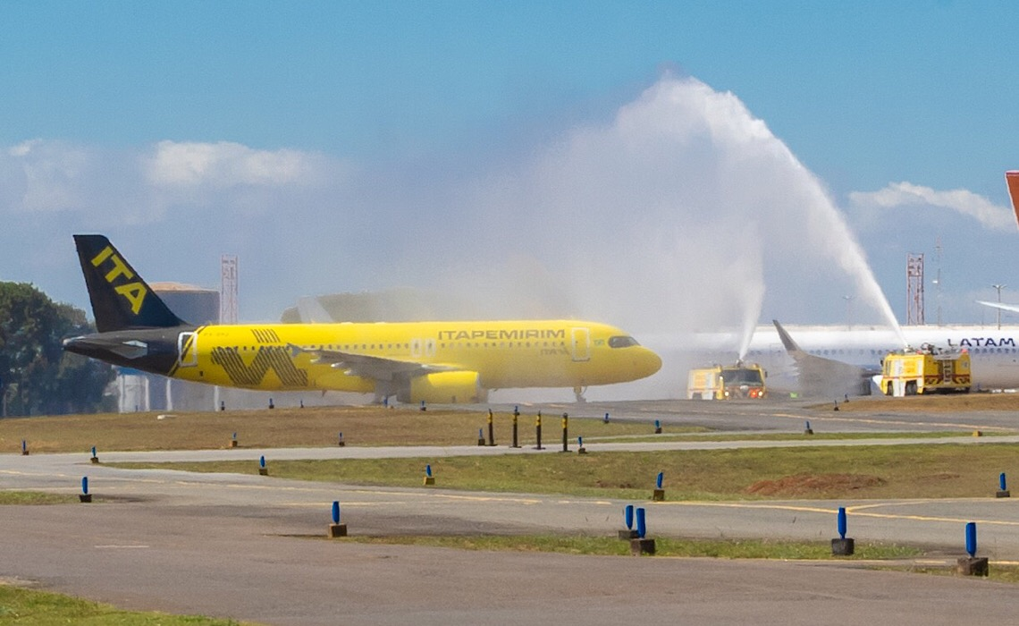 Voo inaugural da  Itapemirim Transportes Aéreos consolida Brasília como eixo turístico