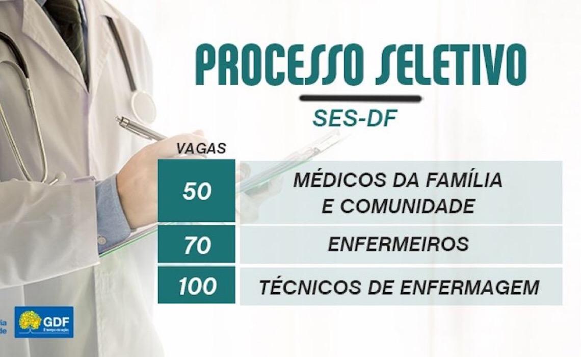 Inscrições abertas para seleção emergencial da Saúde
