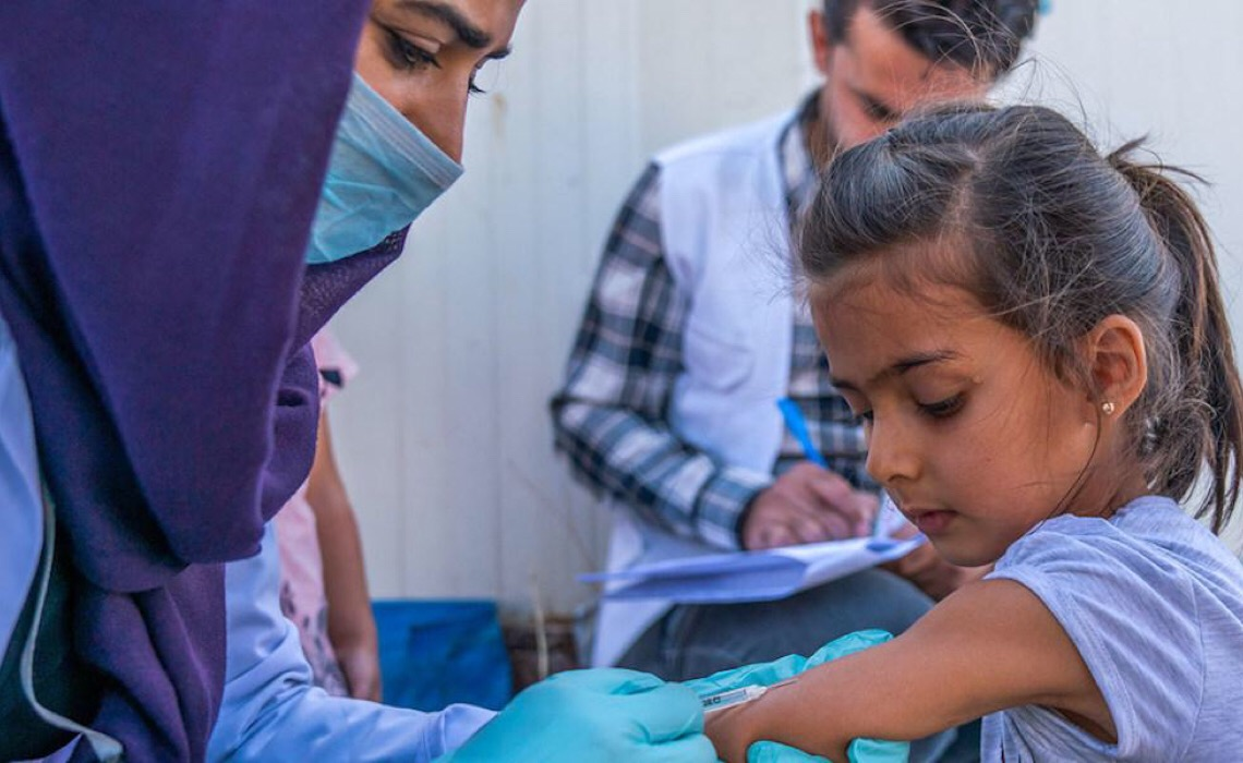 Cerca de 23 milhões de crianças não receberam as vacinas básicas em 2020