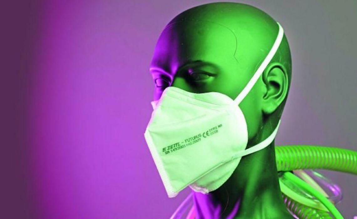 Testes de eficácia das máscaras de proteção são realidade no Brasil e na Europa