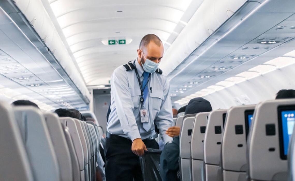 Volume de viagens internacionais é 85% menor na comparação com 2019