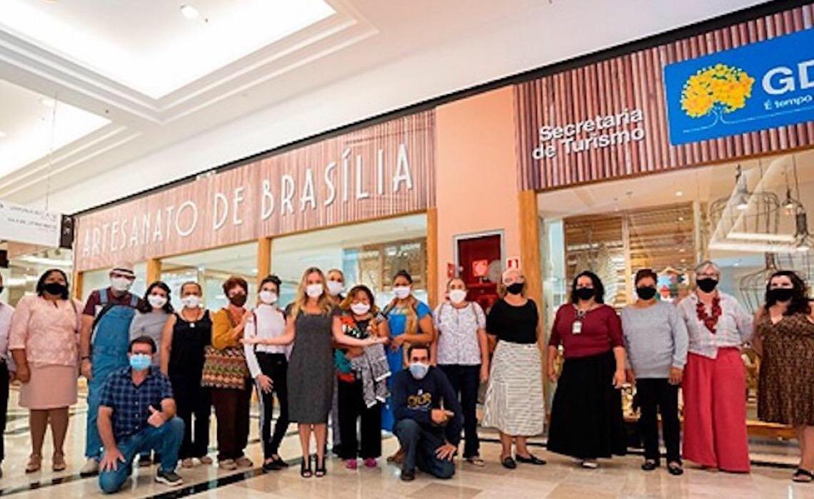 Loja do Artesanato gera emprego e renda para artistas do Distrito Federal