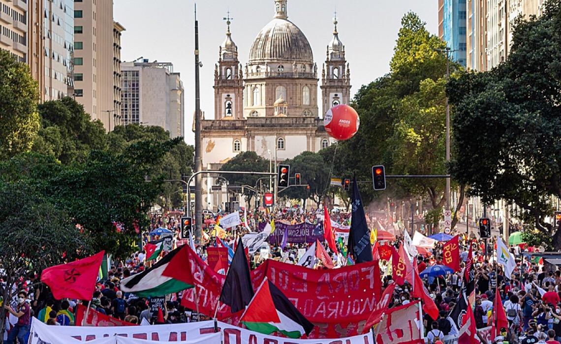 Próxima manifestação da Campanha Nacional Fora Bolsonaro será no dia 7 de setembro