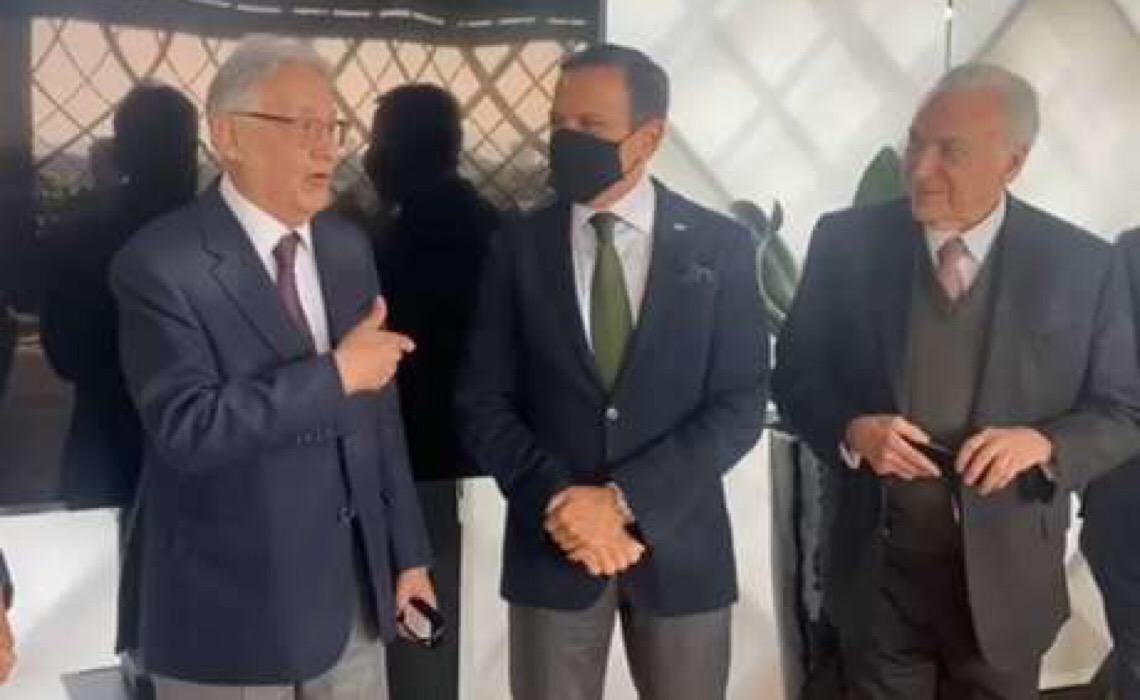 'Tem meu voto': FHC declara apoio a João Doria nas eleições presidenciais de 2022