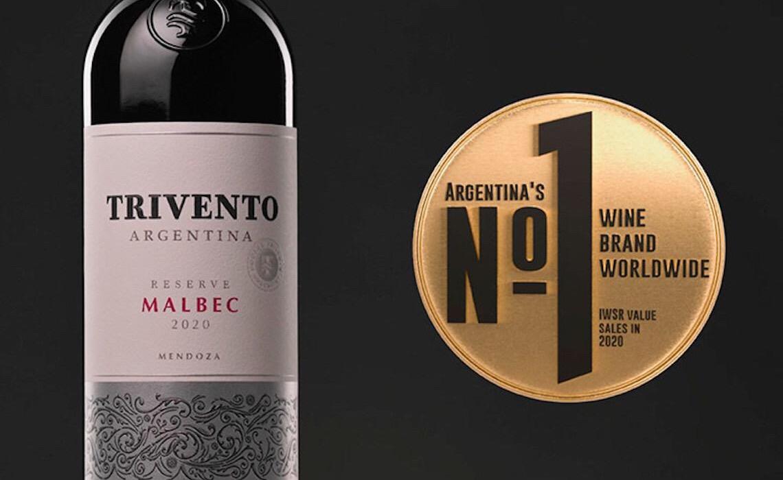 Trivento é a marca argentina de vinho N°1 no mundo