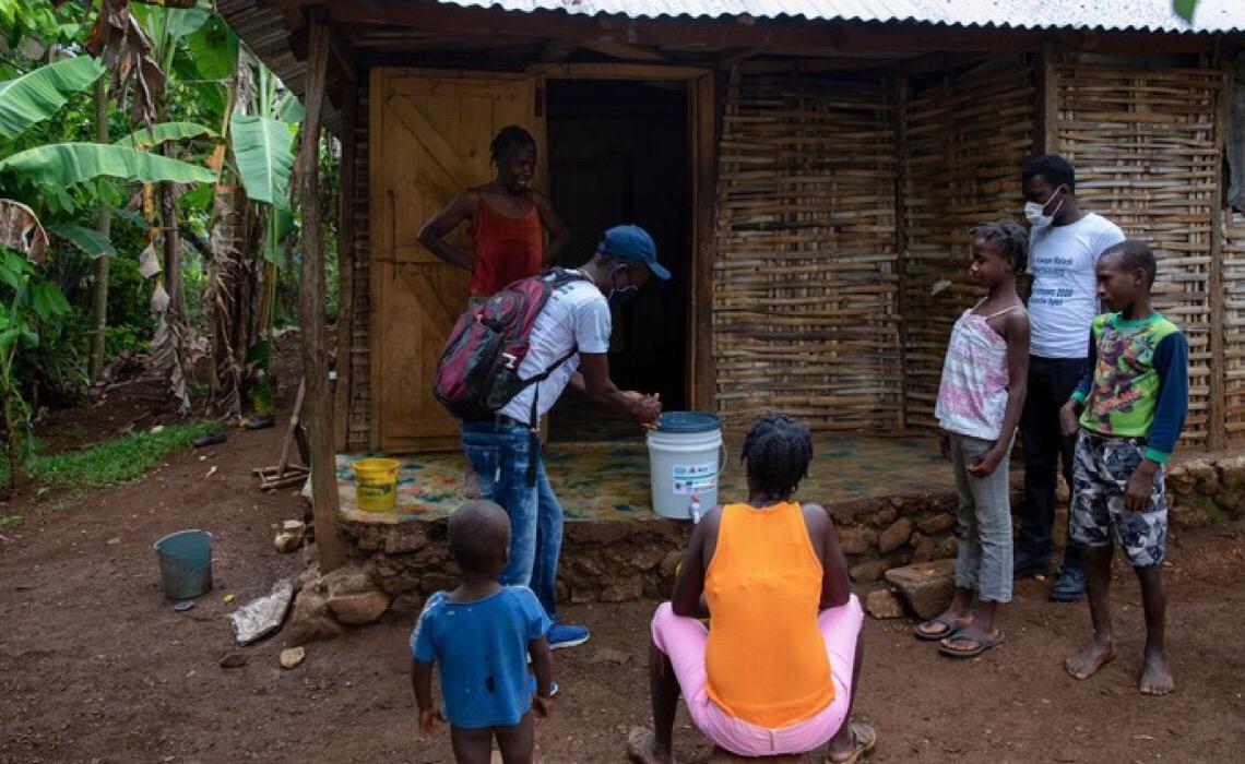 Após terremoto no Haiti, Unicef trabalha em prol das crianças e famílias desalojadas