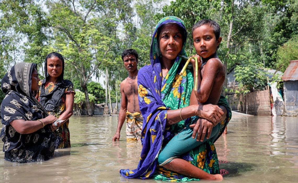 Mudança climática põe em risco 1 bilhão de crianças no mundo