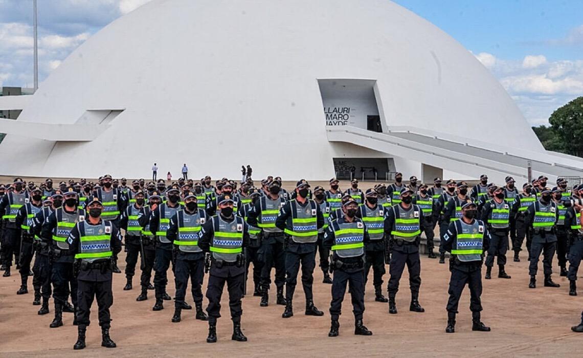 Policiais Militares da ativa do DF são advertidos de participar de atos no dia 7 de setembro