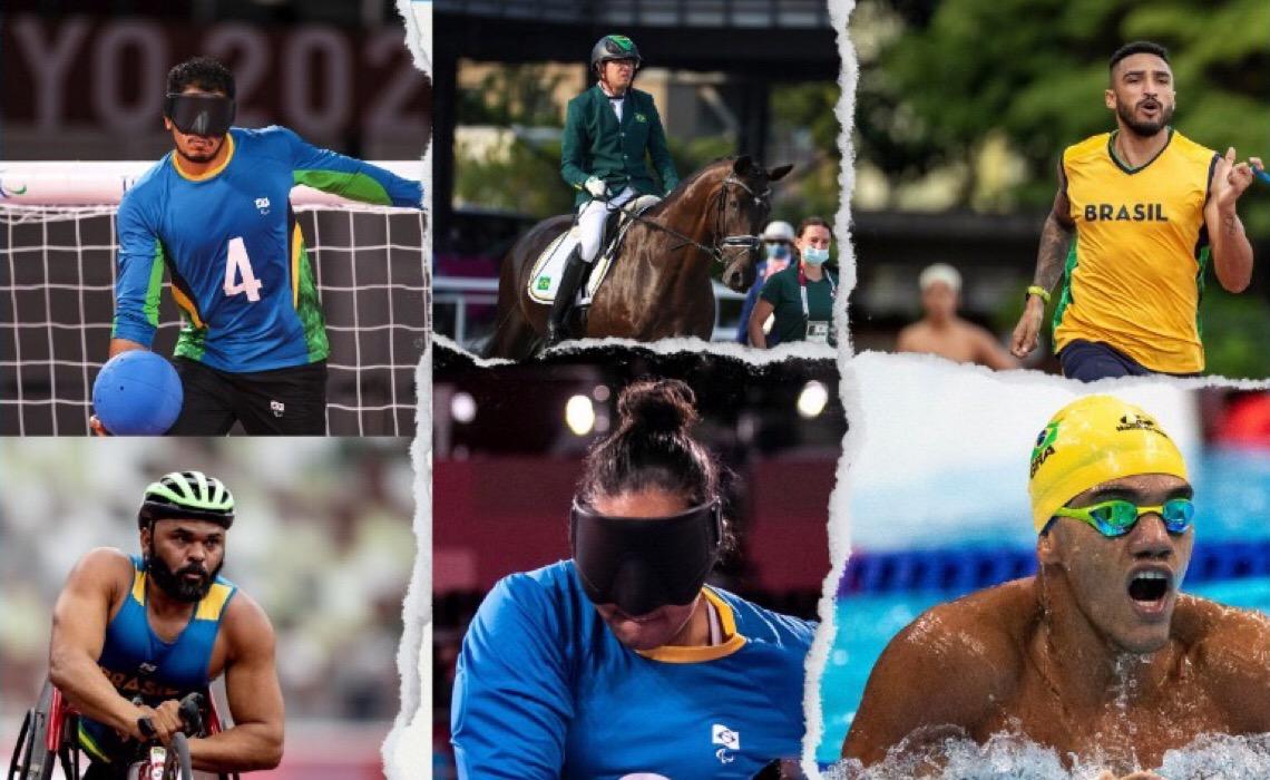Confira a atuação dos atletas destaques do DF nas Paralimpíadas de Tóquio