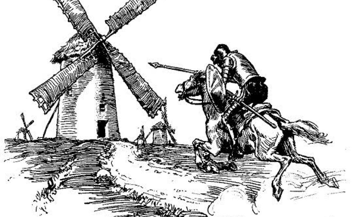 Bolsonaro e os moinhos de vento