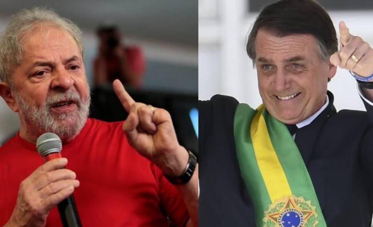 Bolsonaro e Lula, um é para acudir outro