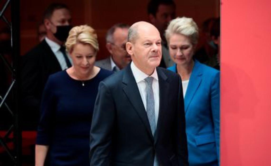 Partido Social-Democrata alemão vence eleições para Bundestag