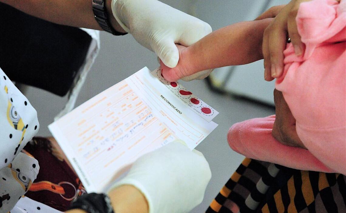 Teste do pezinho ampliado em mais de 500 mil recém-nascidos