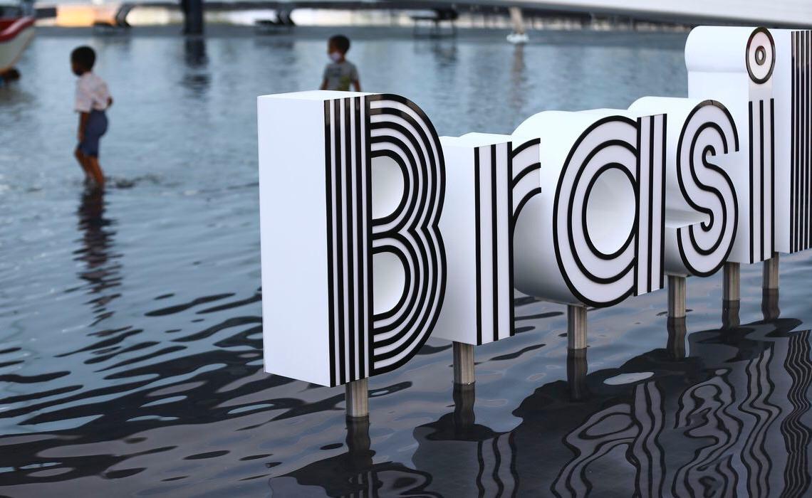 Pavilhão brasileiro na Expo 2020 oferece refresco ao calor de Dubai