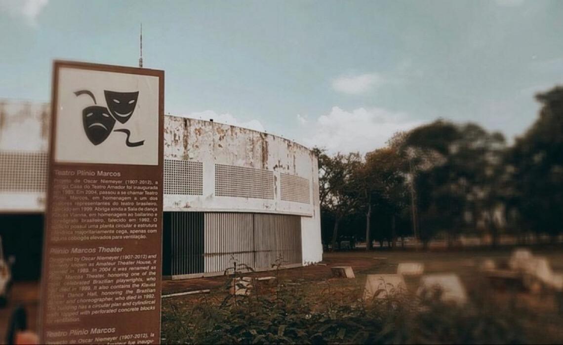 Teatro Plínio Marcos, no Complexo Funarte, ganhará reforma