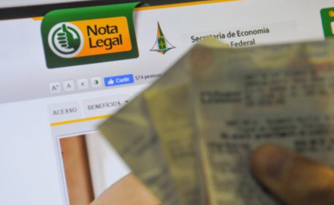 Prazo para regularizar participação no sorteio do Nota Legal termina dia 8 de outubro
