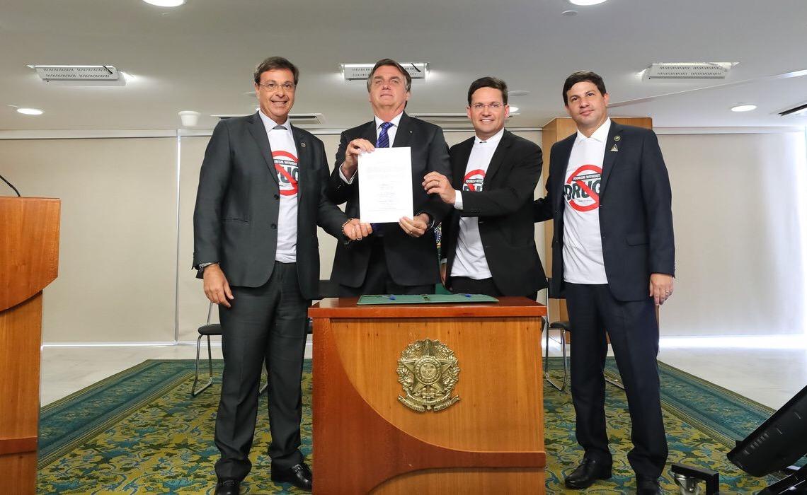 Governo federal institui o programa Turismo Sem Drogas, solenidade foi no Palácio do Planalto