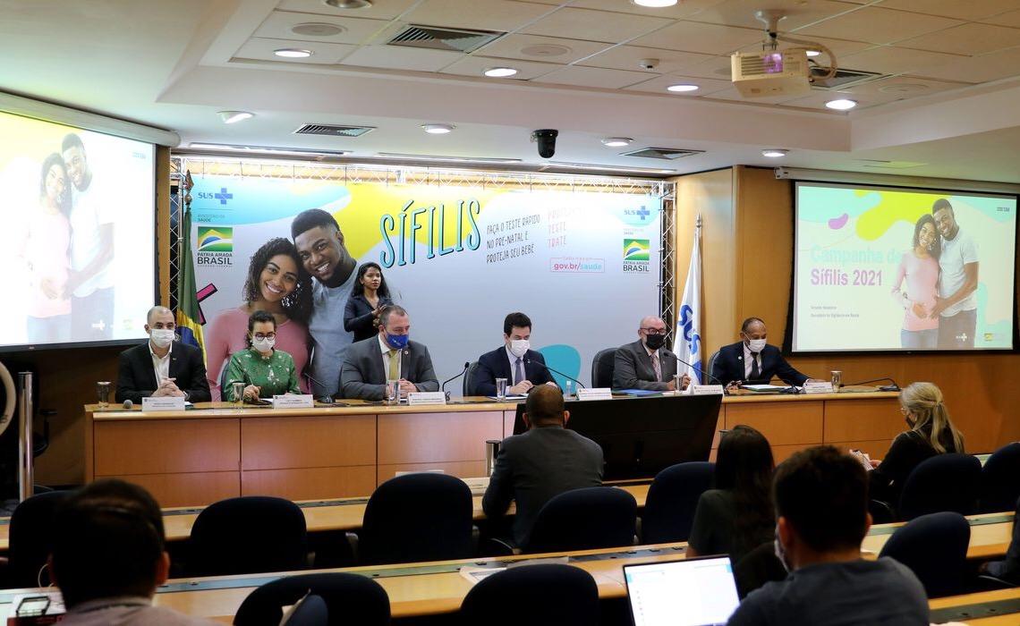Ministério da Saúde lança campanha nacional de combate à sífilis