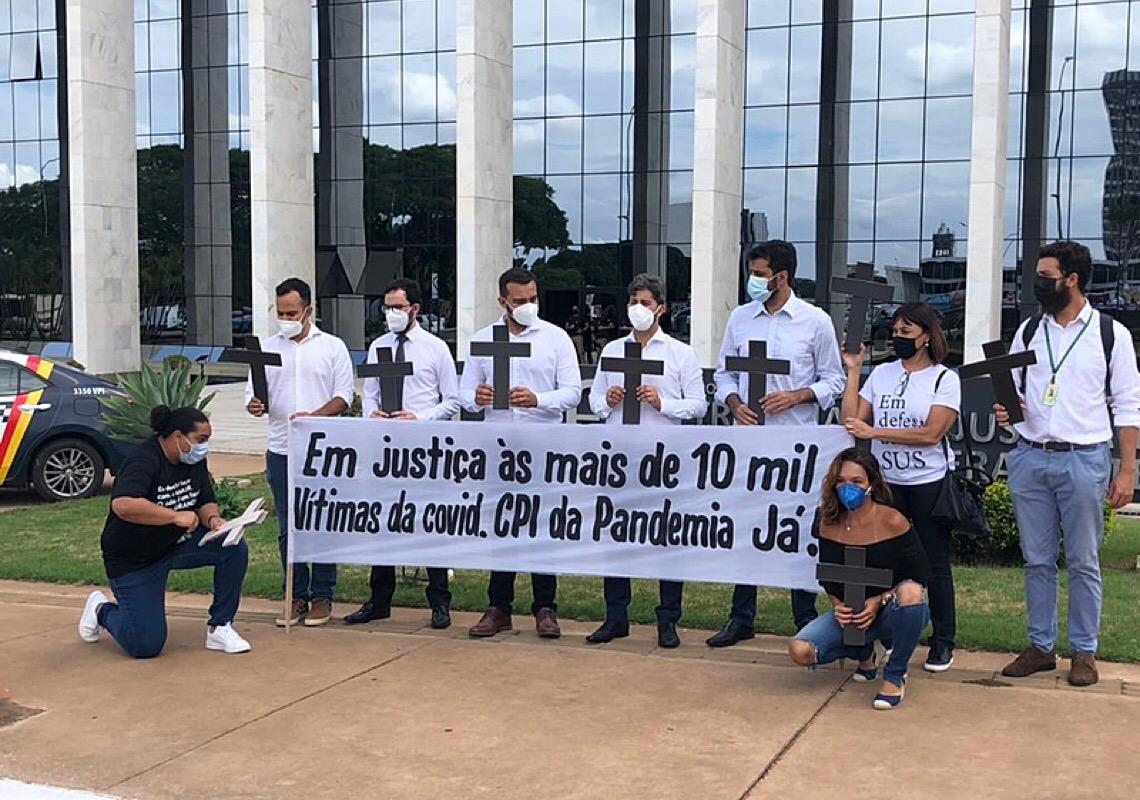 Desembargadores negam pedido para instalar CPI da Pandemia no DF