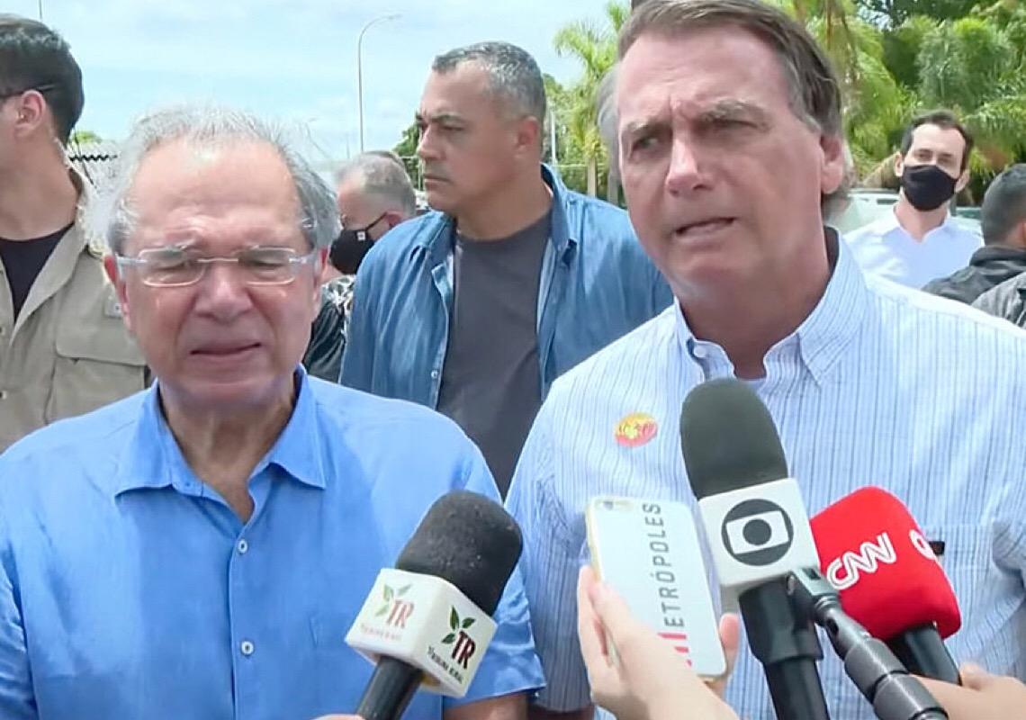 Bolsonaro e Guedes convocam imprensa e atacam Lula e Pacheco em tentativa de conter crise